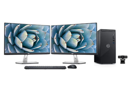 Get a full Dell desktop bundle for under $850 with this insane deal