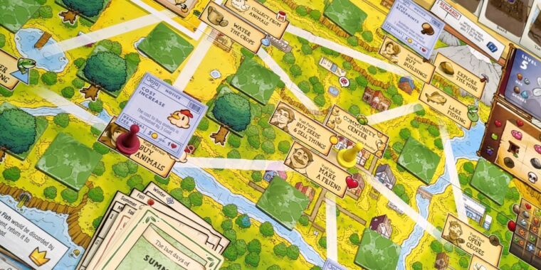 Stardew Valley: The Board Game—a loving production but a mixed review from Grandpa