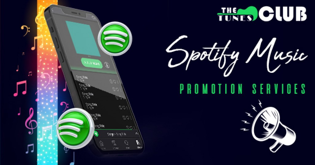 Digital marketing Establish a global prominence with Spotify music promotion services